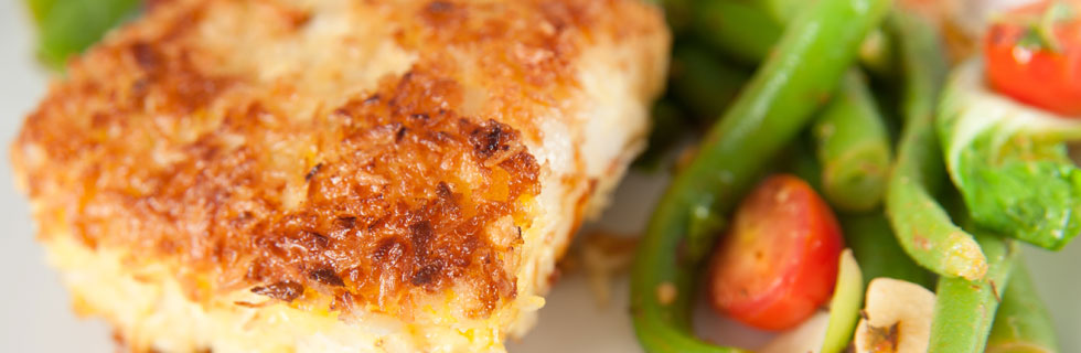 ... Pan-Seared Pacific Cod with Black Beans and Summer Vegetables Recipe
